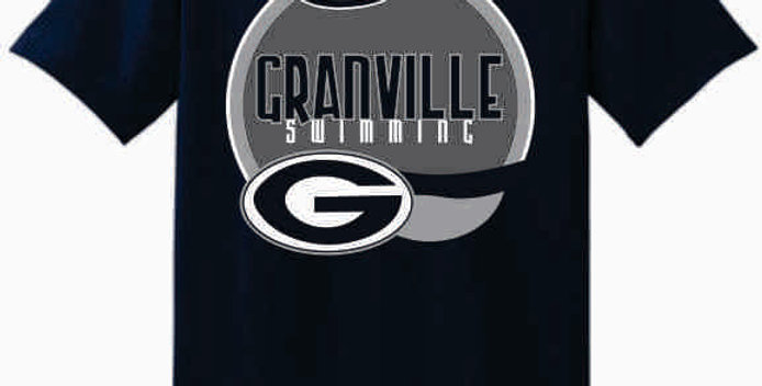 GHS Swimming Navy Cotton T-Shirt