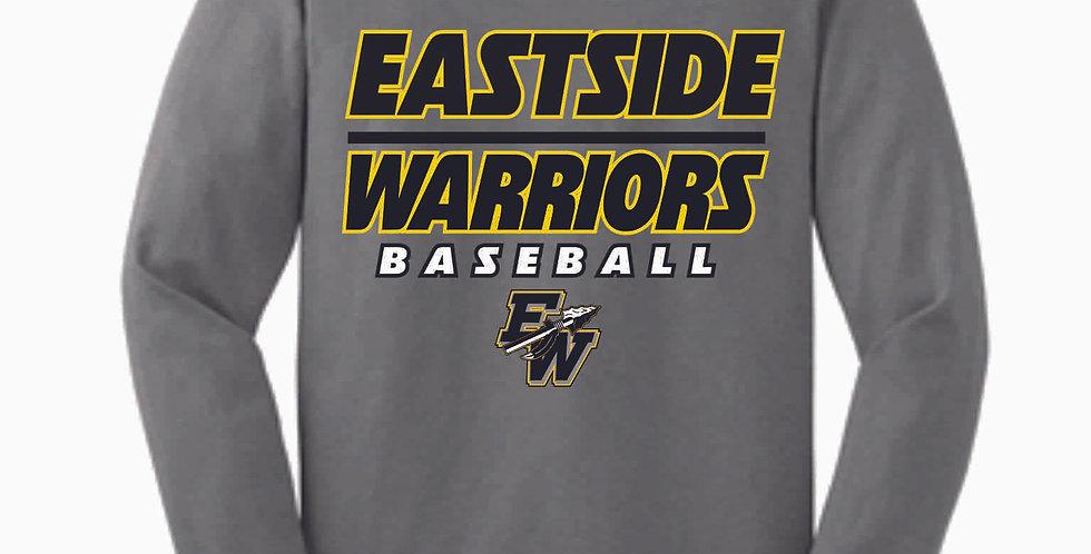 Eastside Express Grey Cotton Longsleeve
