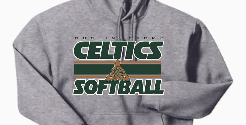 Dublin Jerome Softball Grey Cotton Hoody
