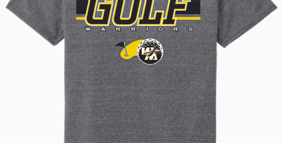 Watkins Golf Grey Soft T shirt