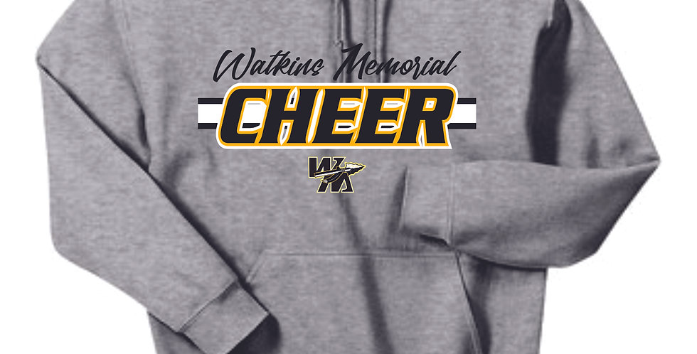 Watkins Cheer Grey Cotton Hoody