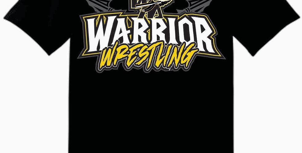 Watkins Youth Wrestling Gildan Cotton Simple Black T Shirt