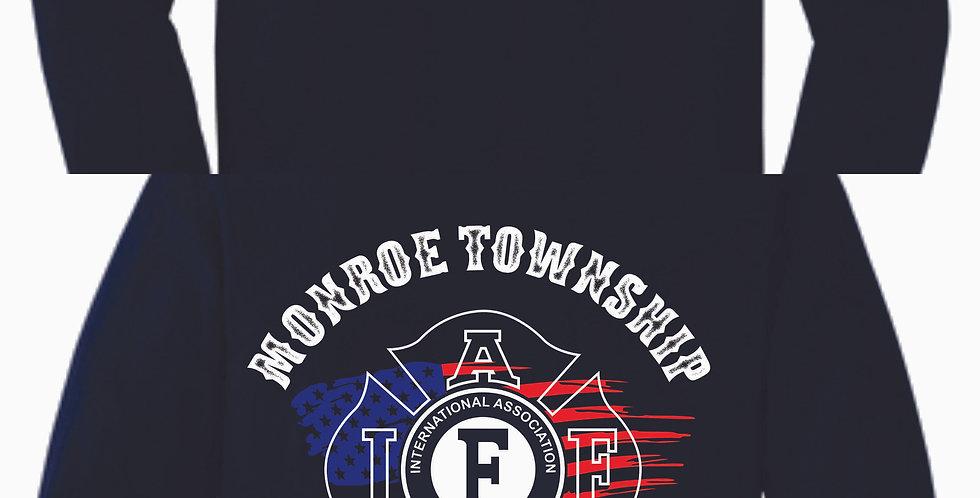 Monroe Flag Longsleeve Cotton T-shirt
