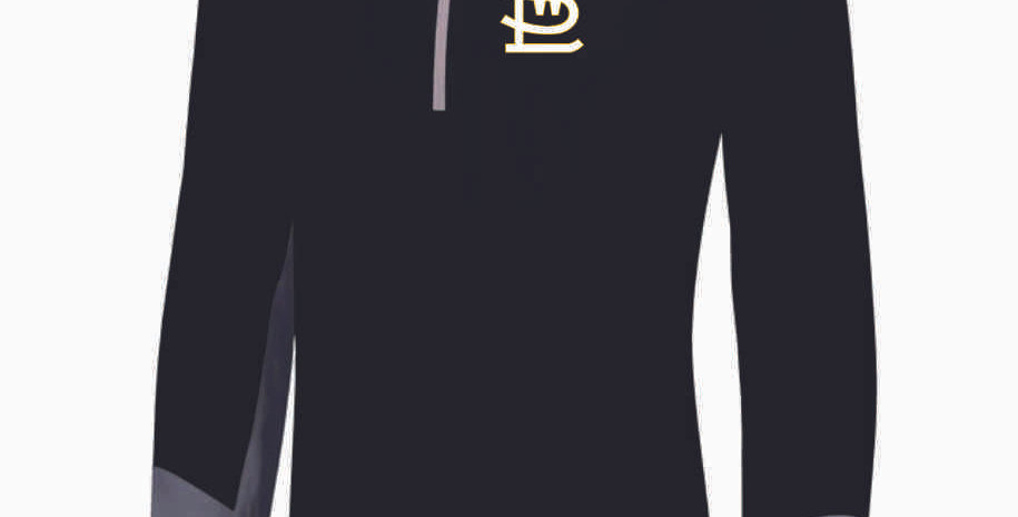 SWL 1/4 Zip Black Pullover