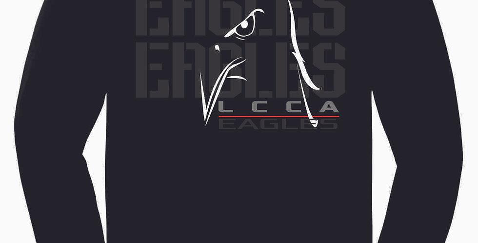 LCCA Black Eagles Cotton Longsleeve Tee