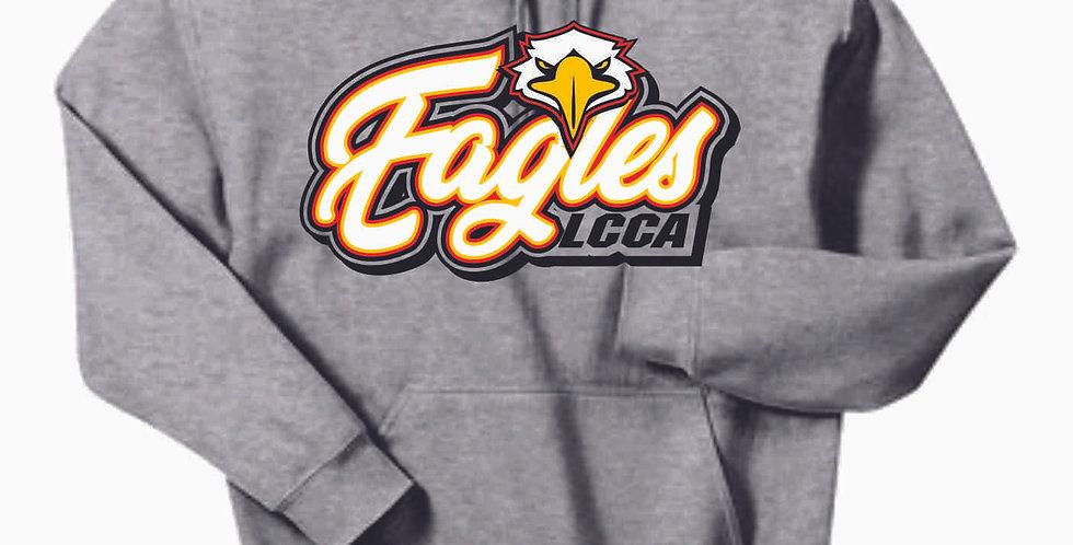 LCCA Grey Eagles Cotton Hoody
