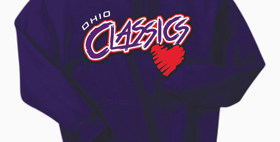 Ohio Classics Purple Cotton Hoody
