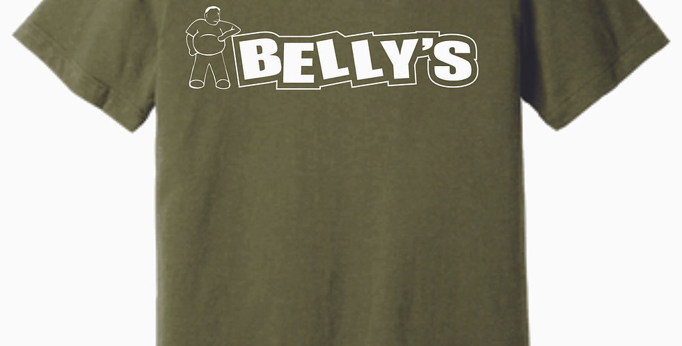 Belly's Heather Olive Soft T Shirt