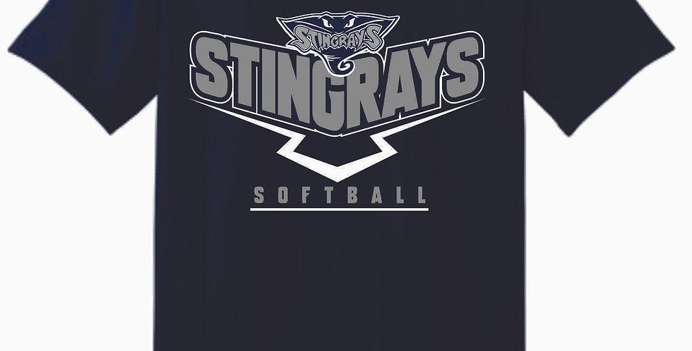 Stingrays Navy T Shirt