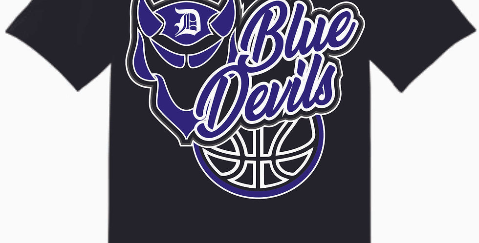 Danville Basketball Black Cotton T Shirt