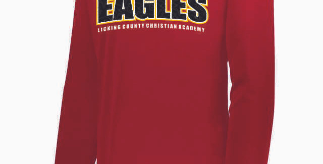 LCCA Red Eagles Dri Fit Longsleeve