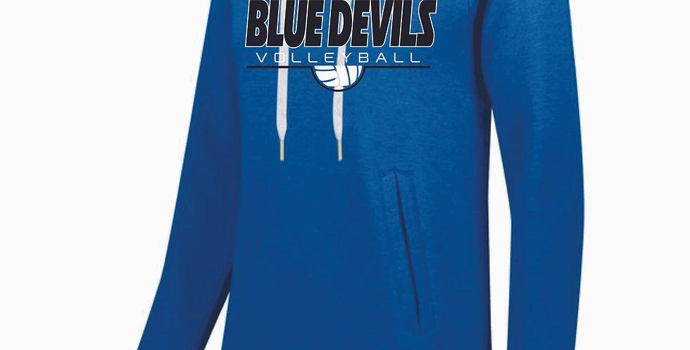 Danville Volleyball Ladies Simple Royal Hood