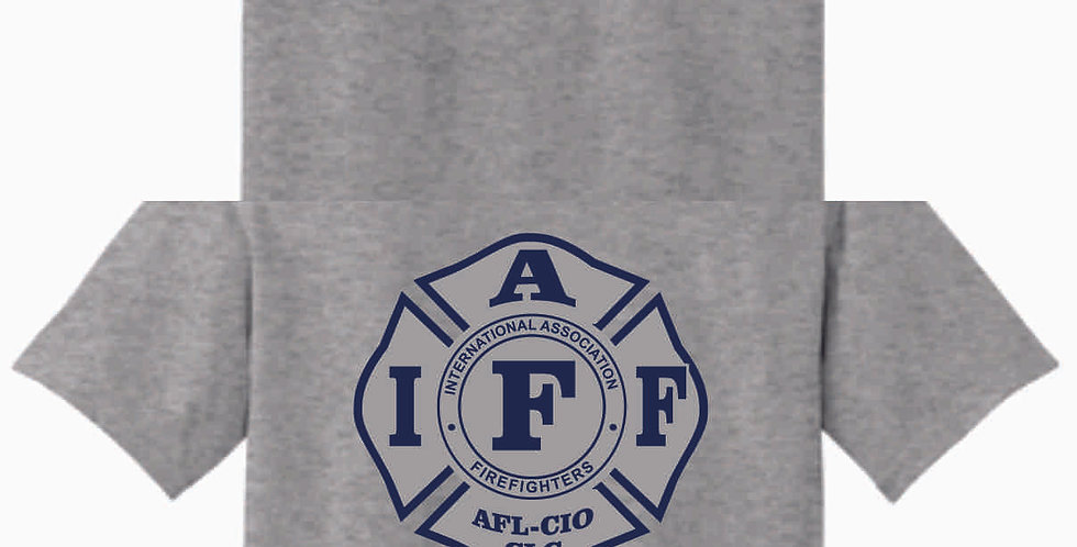 Berlin Township Fire Grey Cotton T Shirt