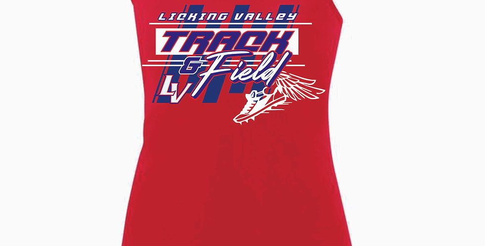Licking Valley Tri-Valley Red Tank