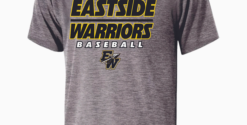 Eastside Warriors Grey Dri Fit Shortsleeve