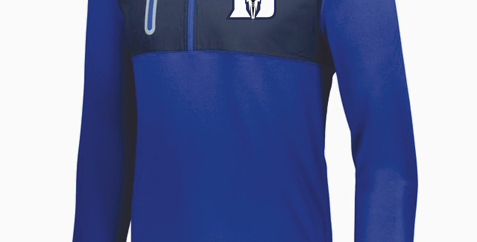 Danville Football Poly 1/4 Pullover