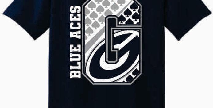 GHS Granville Generic Navy Cotton T-Shirt