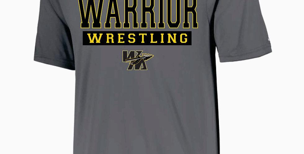 Watkins Youth Wrestling Grey Dri Fit Shortsleeve