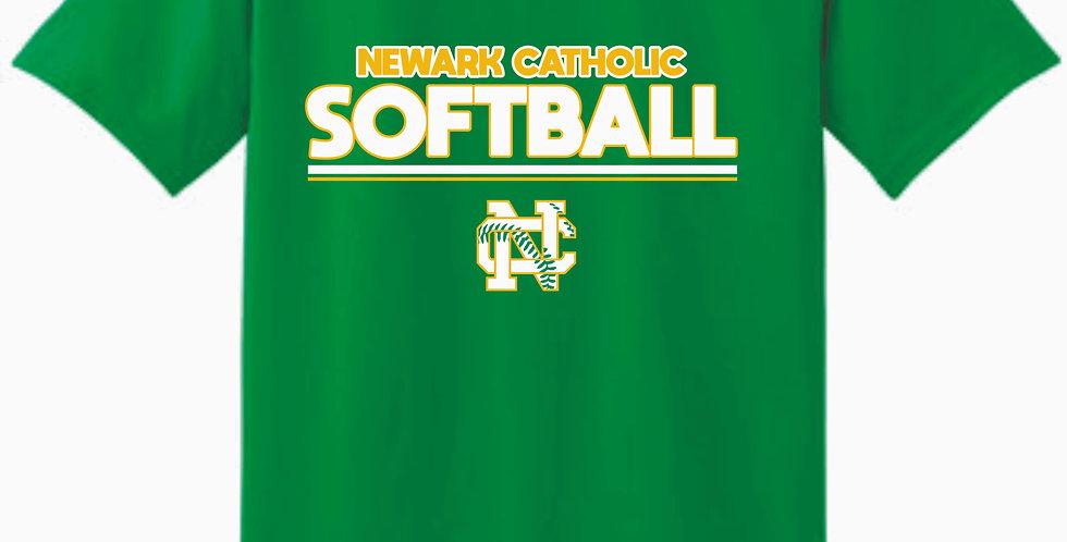 Newark Catholic Kelly Green Cotton T Shirt