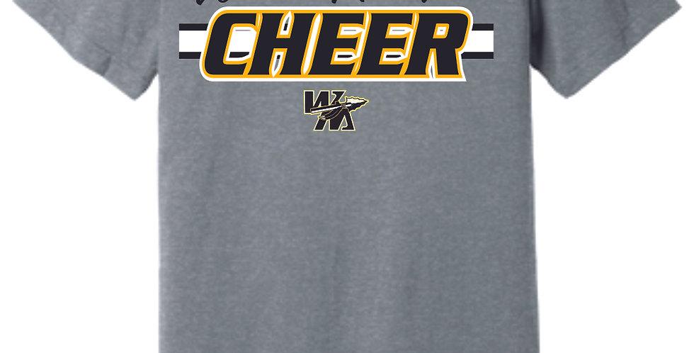 Watkins Cheer Grey Soft T Shirt