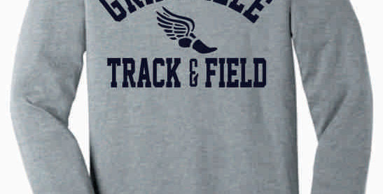 Granville Track and Field Soft Grey Longsleeve