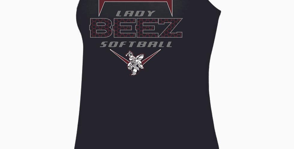 Lady Beez Black Tri Blend Tank