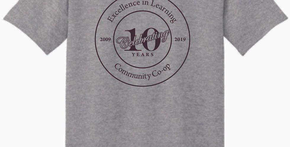 Homeschool Circle Sport Grey T Shirt