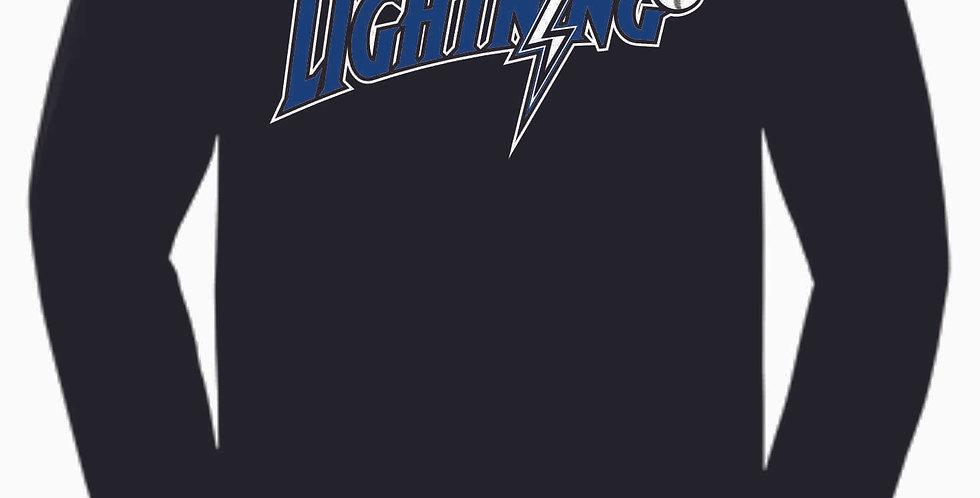 Lightning Original Black Cotton Longsleeve