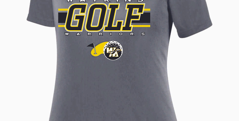 Watkins Golf Grey Dri Fit T shirt
