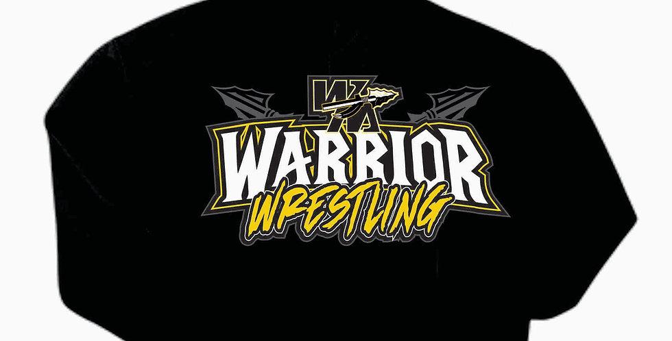 Watkins Youth Wrestling Gildan Cotton Black Simple Hoody
