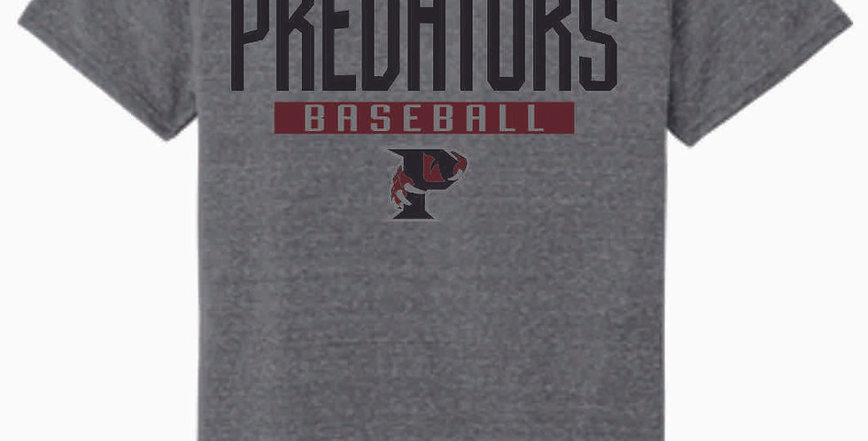 Predators Grey Soft T shirt
