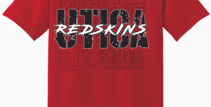 Utica Red Cotton T Shirt