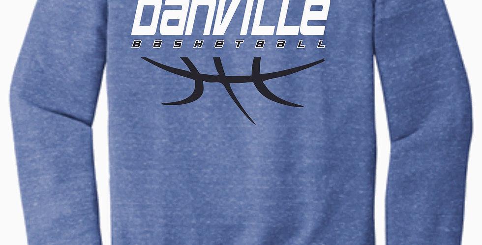 Danville Basketball Royal Snow Heather Soft Crew