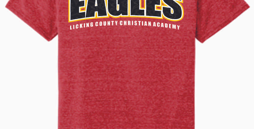 LCCA Red Eagles Soft T Shirt
