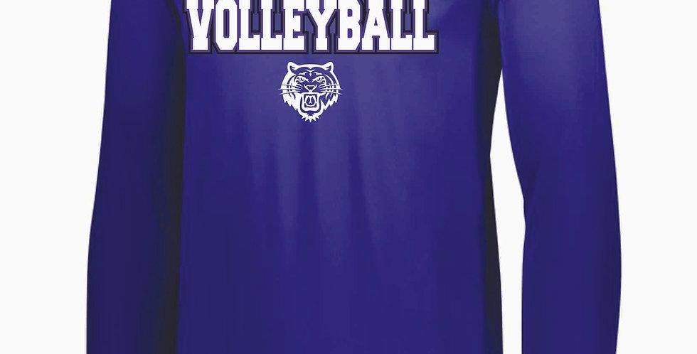 Tiger Volleyball Generic Purple Longsleeve Dri Fit