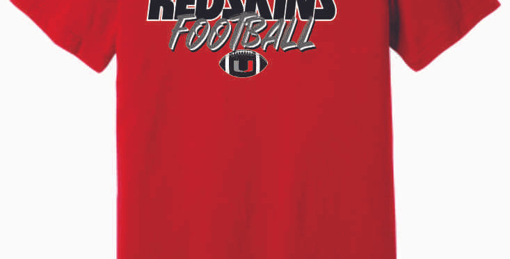 Utica Football Red Soft T Shirt