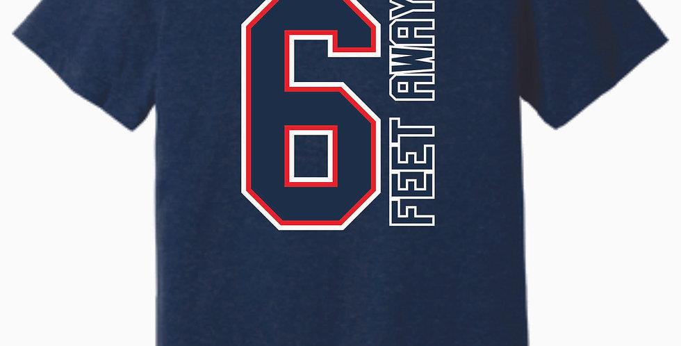 SPRING Sale 2020 Navy 6 ft away Soft T Shirt