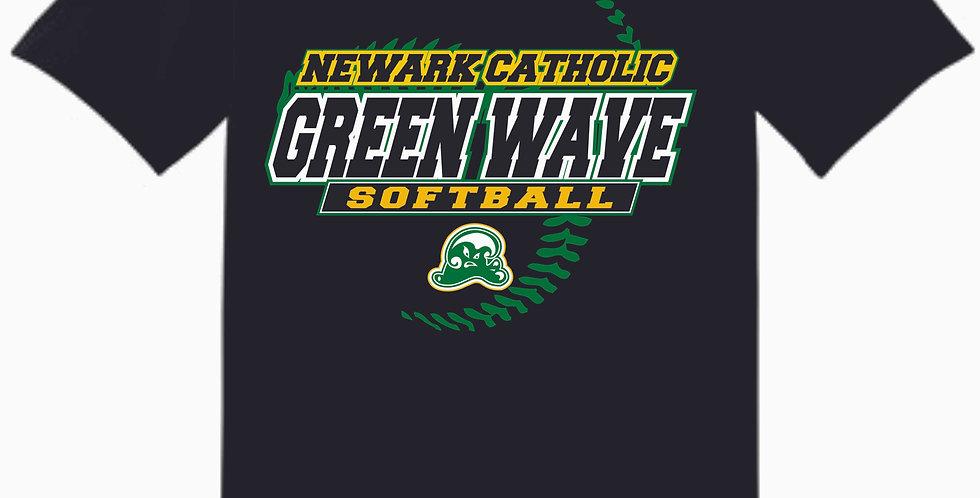 Newark Catholic Black Cotton T Shirt