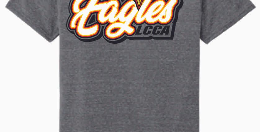 LCCA Grey Eagles Soft T Shirt