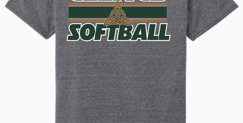 Dublin Jerome Softball Grey Soft T Shirt