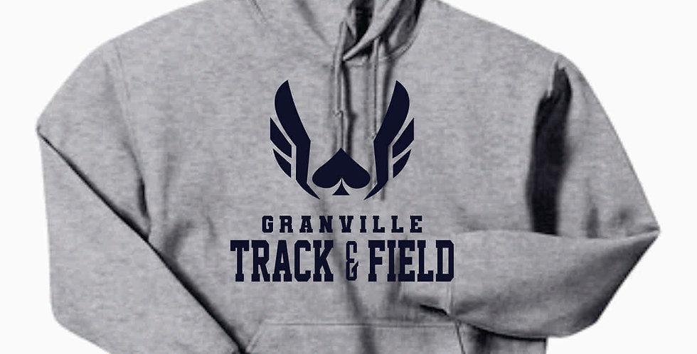 Granville Track and Field Grey Original Hoody