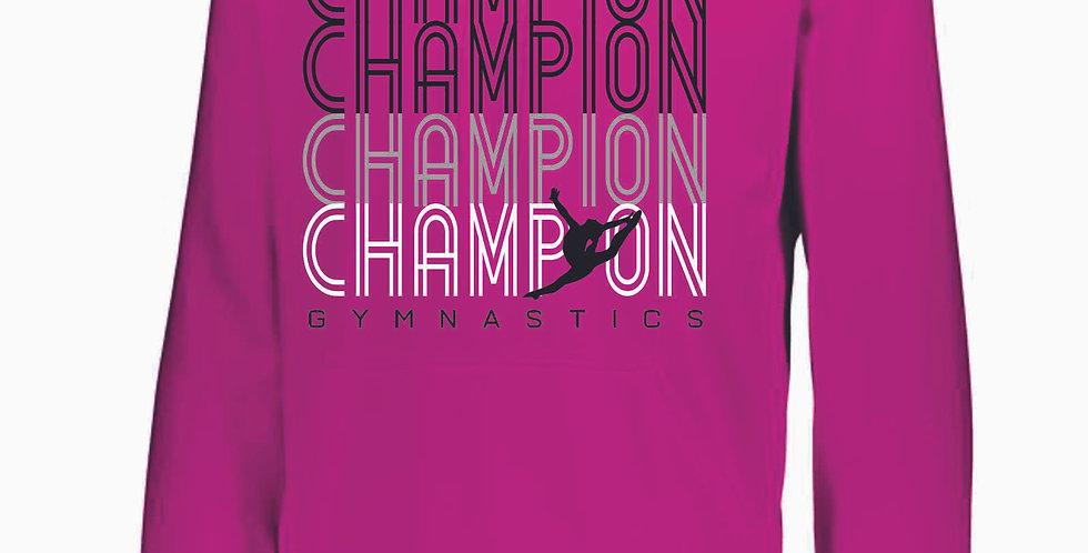 Champion Gymnastics Power Pink Poly Hood
