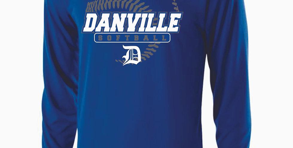 Danville Softball Royal Dri Fit Longsleeve
