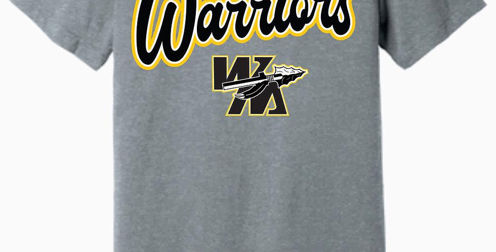 Watkins Youth Basketball Grey Jersey Soft T-shirt