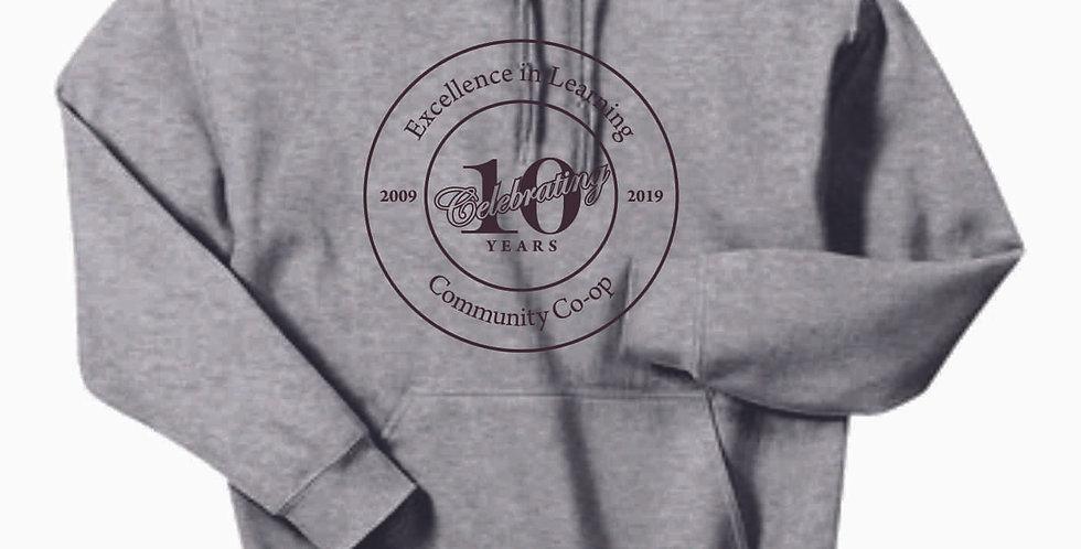 Homeschool Circle Cotton Sport Grey Hoody
