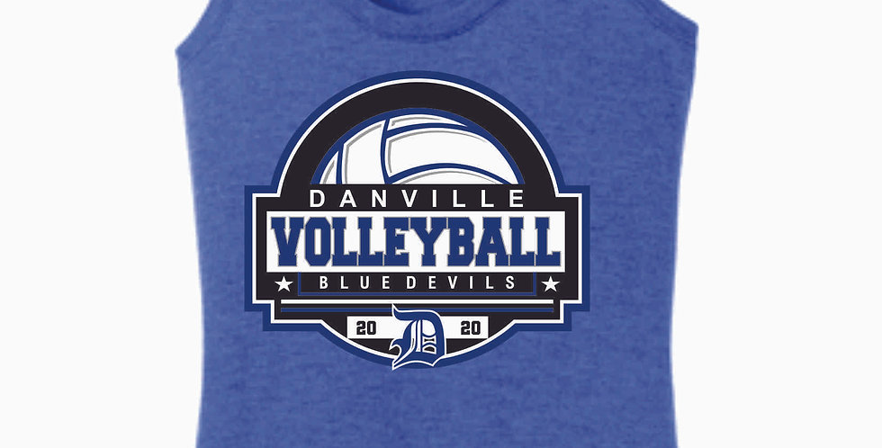 Danville Volleyball Royal Women's Tank