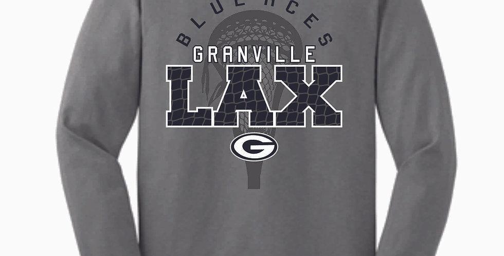 Granville LAX Grey Cotton Longsleeve