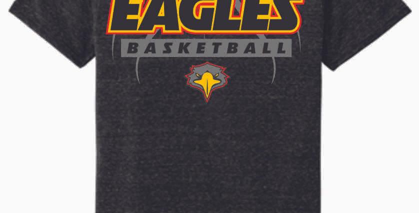 LCCA Black Basketball Soft T Shirt