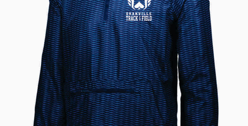 Granville Track and Field Packable Rain Pullover