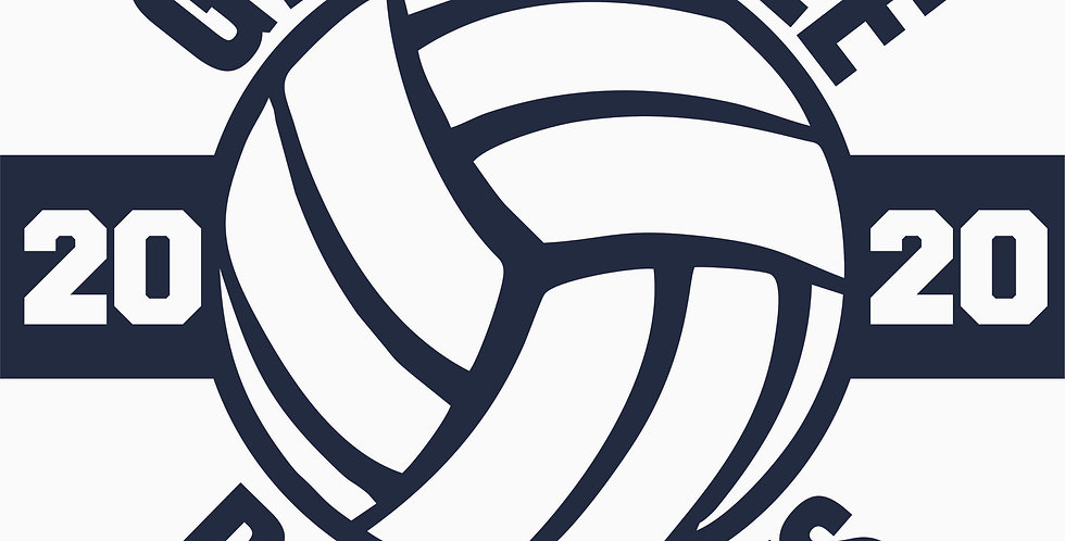 Granville Volleyball Window Decal